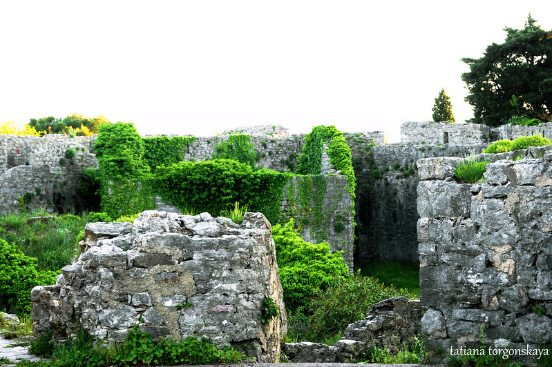 Постройки Шпаньолы с крепостных стен
