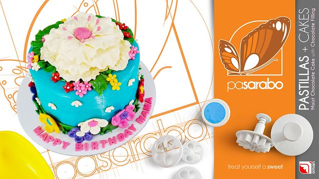 Pretty Cake by Jhun Murao of Pasarabo Cakes