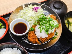 Pork Belly Cutlet with Grated Daikon Radish and Ci…