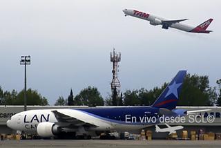LAN Cargo y TAM (Blaise)