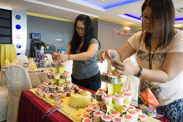 Birthday Cake Preparation