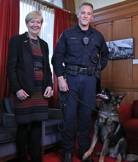 New police dog training standards in BC