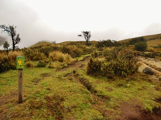 Iliniza Trail Signage