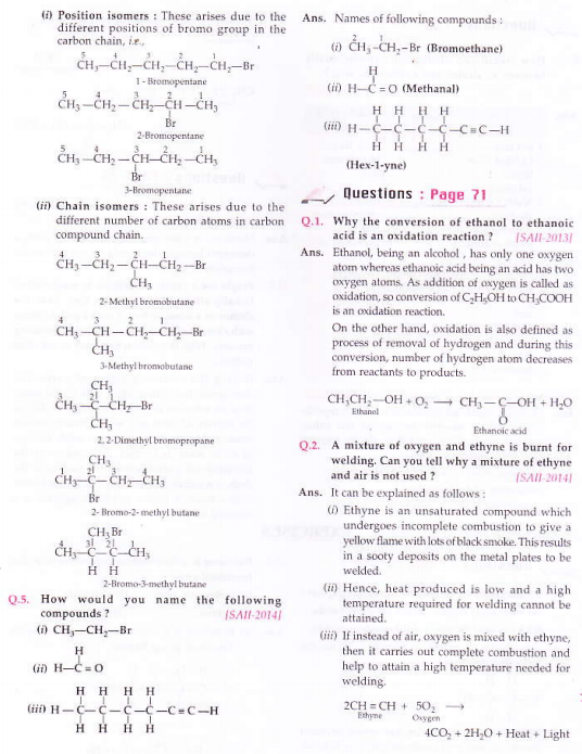 NCERT Solutions for Class 10th Science Chapter 4 Carbon and its compounds_3