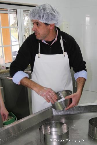 9 - мастер-класс по приготовлению сыра - традиции Португалии