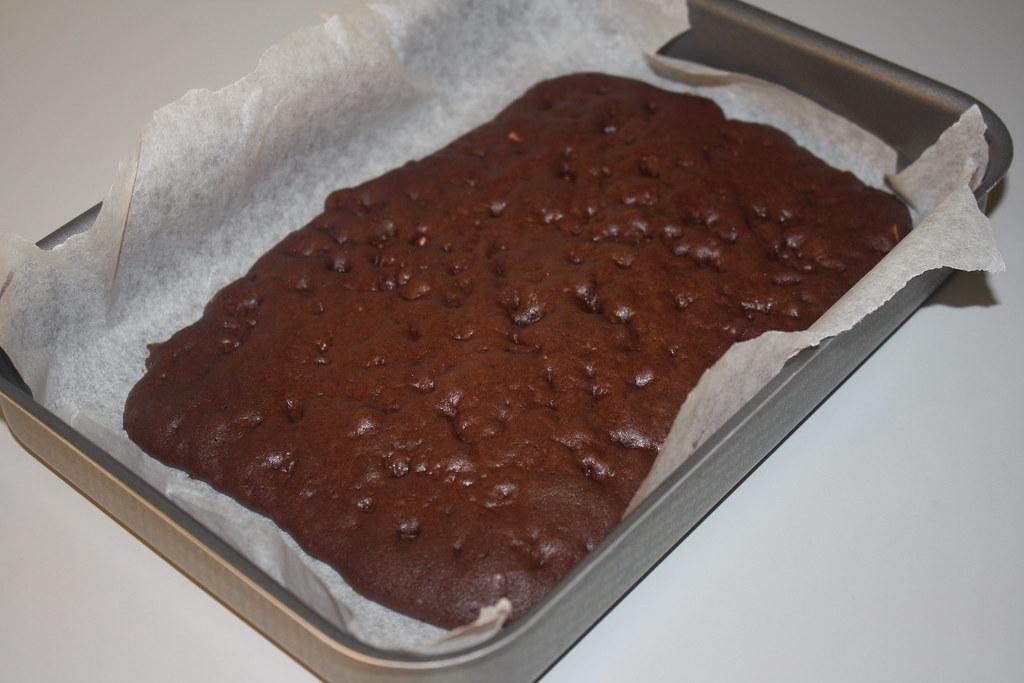 Chokolademousse med nøddebund (9)