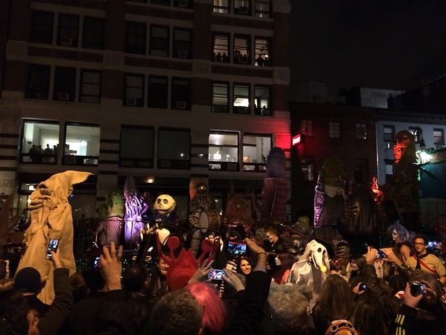 Halloween Parade in NYC 2014