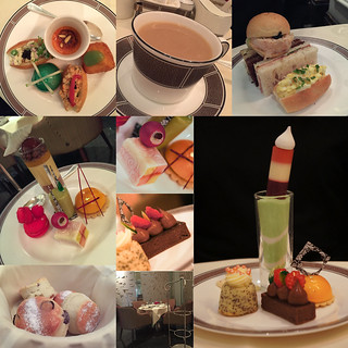 Afternoon-Tea-at-The-Langham,-London