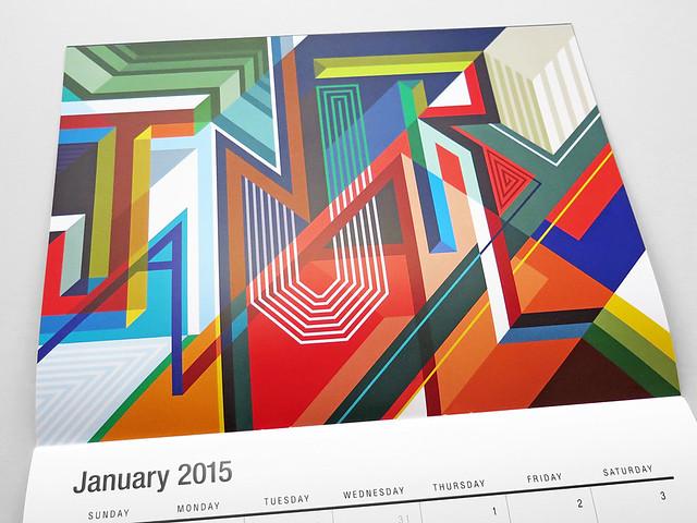 MWM 2015 Wall Calendar.