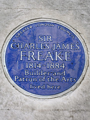 Photo of Charles James Freake blue plaque