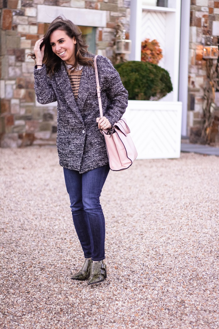 fall outfit. fall layers. virginia winery. fall style. casual. oversized jacket. andrea viza. va wine. 1