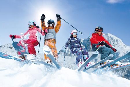 Nassfeld - rodinné lyžování pod sluncem