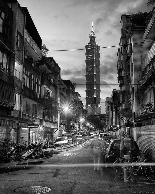 Taipei 101 - Old vs New