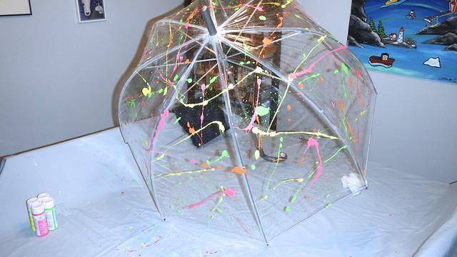 Neon Umbrella 13