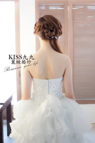 高雄KISS九九麗緻婚紗韓風婚紗攝影分享-造型 (3)