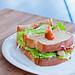 胡麻西京雞三明治