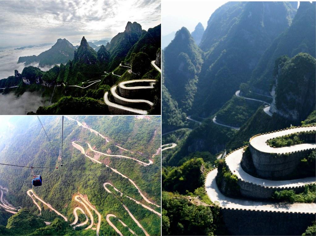 [張家界天門山-單車挑戰] 全球最險的至美山路,世界極限愛好者聖地,我們來了!
