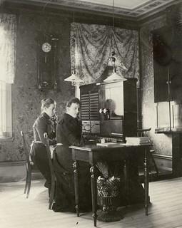 Telefonstation i Bollnäs