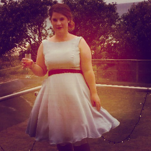 #bpsewvember days 27+28 best make + hem: this silk dress I made for my cousins wedding. Underlined in silk organza with an enormous amount of catch stitching, not to mention the full lining. Then I did a hand rolled hem on the enormous skirt.