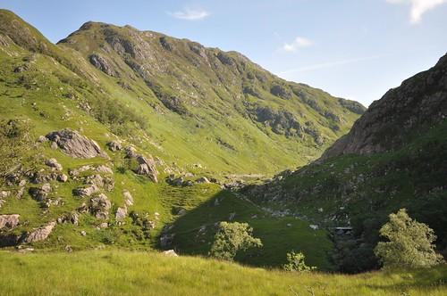 Glen Arnisdale meets Gleann Dubh Lochain