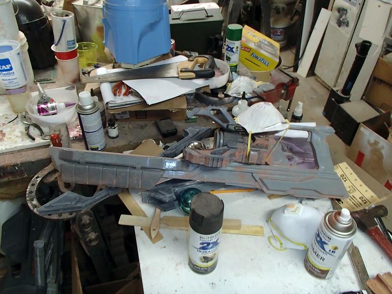 Lightning Gun Main Body Prep