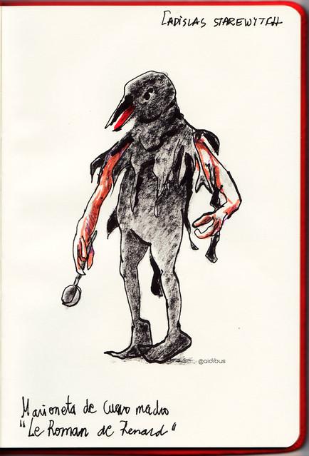 Marioneta Cuervo