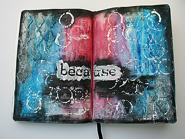 Because-art-journal-page