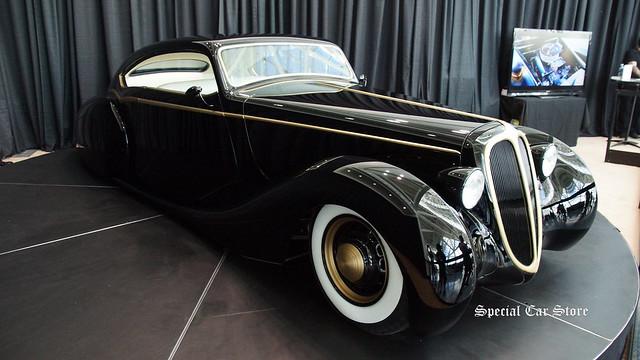 Based off of a 1948 Jaguar Frame THE BLACK PEARL