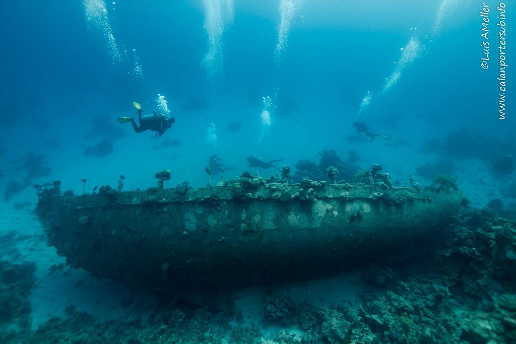 RedSea- Abu Galawa wreck
