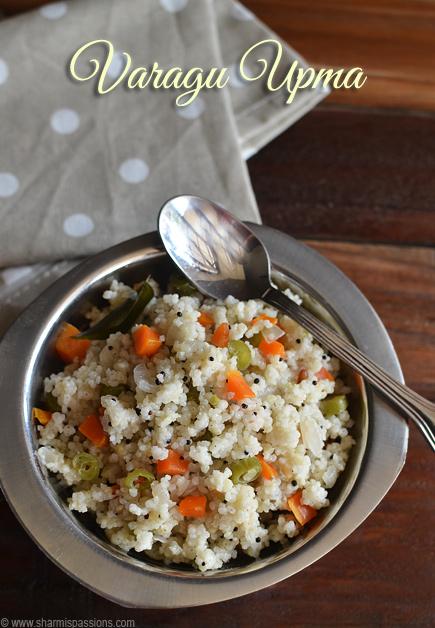 Varagu Upma Recipe