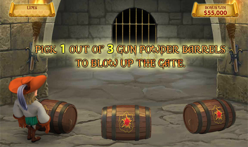 free The Three Musketeers and the Queen's Diamond The Queen's Diamond Bonus Game