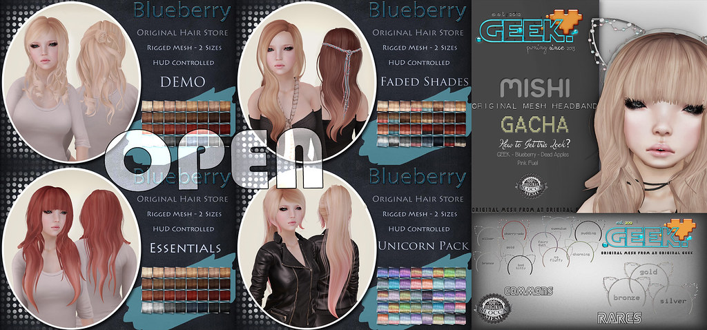 Blueberry Hair Store Open