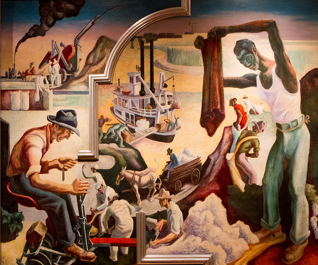 Thomas Hart Benton, America Today