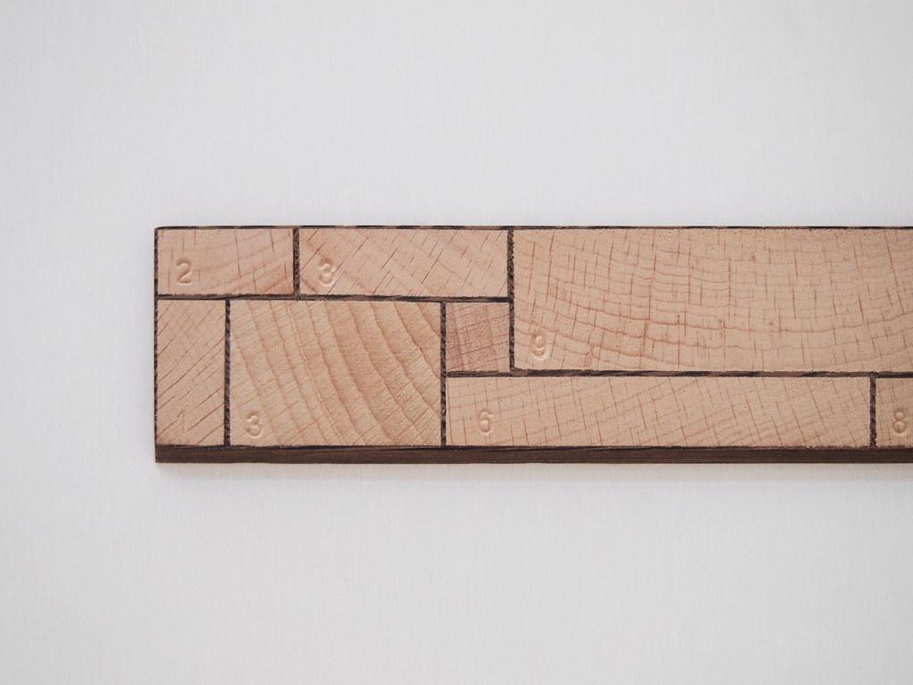 AndreyAndShay - 25cm ruler detail