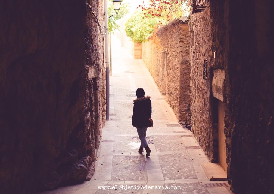 Calles de Cuenca, luces y sombras