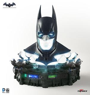 絕讚電玩「蝙蝠俠:阿卡漢起源」面罩蒐藏!