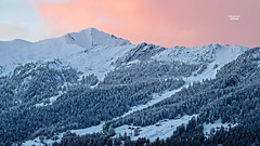 Sunrise at Verbier
