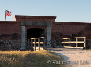 fort clinch - val in real life
