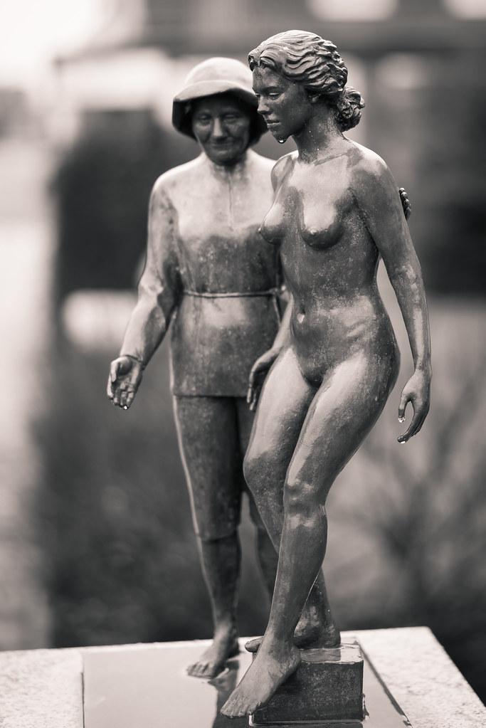 ... Shy nude Girl and elderly Woman | by x1klima