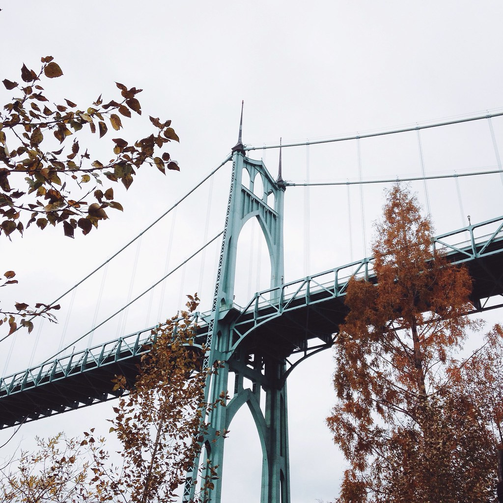 St. Johns Bridge, Portland OR