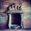 Hindu temple niche