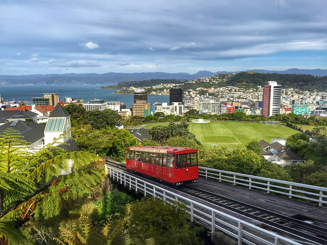 Wellington Cable Car Kelburn station