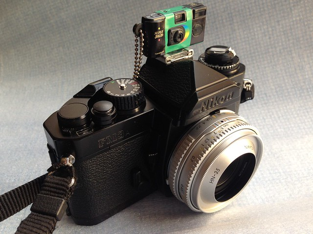miniature QuickSnap on Nikon FM3A