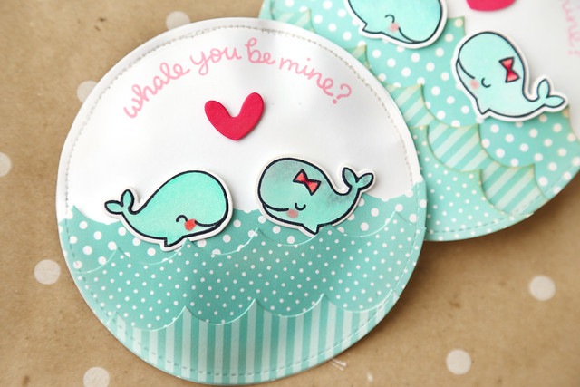 tear-away valentines {new lawn fawn!}