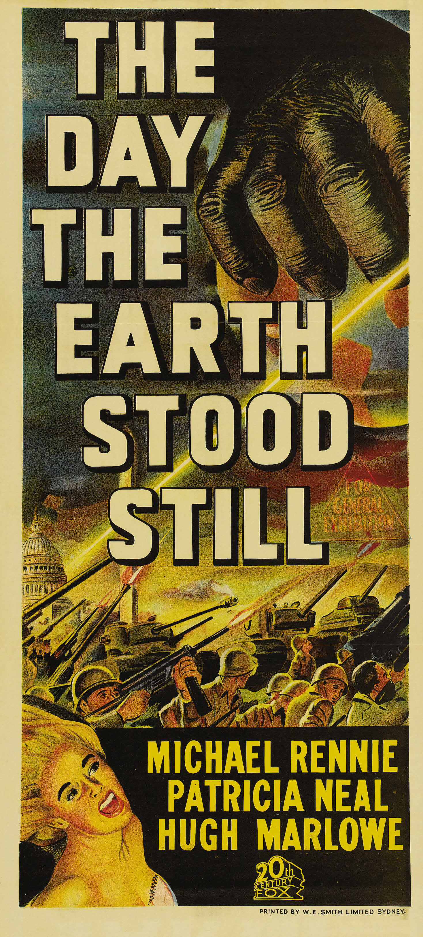 The Day The Earth Stood Still 1951 Amazing Movie Posters