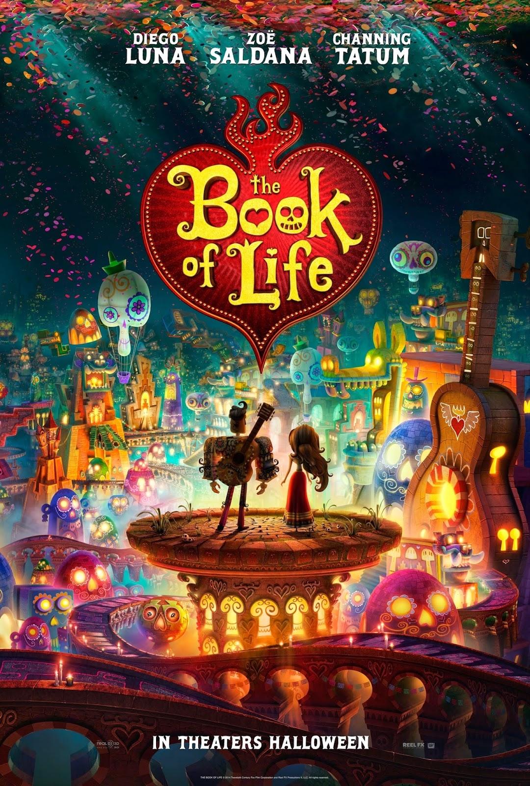 Cuốn Sách Cuộc Đời - The Book Of Life (2014)