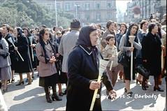 Bisceglie (BA), 1979, I riti della Settimana Santa.