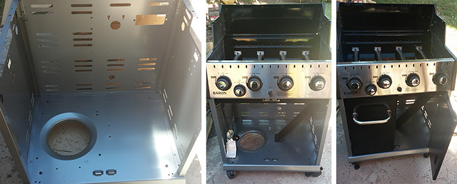 Putting together a Broil King Baron 440