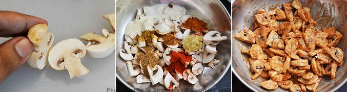How to make mushroom fry - Step1