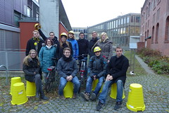 Das Masterplan-Fahrrad-Team